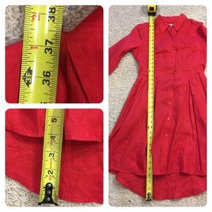 1391730f91 Anthropologie Dresses - ANTHROPOLOGIE LAILA LINEN SHIRT DRESS HD IN PARIS